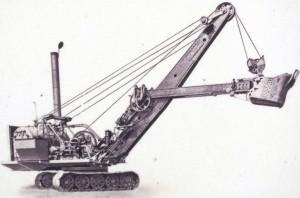 Inside view of Old Digger