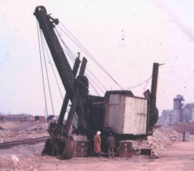 The Old Digger just before it retired
